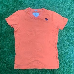 Abercrombie and Fitch Muscle V-neck Shirt Medium